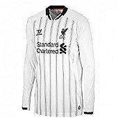 2013-14 Liverpool Home LS Goalkeeper Shirt (Kids) - White