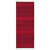 Swedy Sara Red Rug - Runner 60 cm x 180 cm (2 ft x 5 ft 11 in)