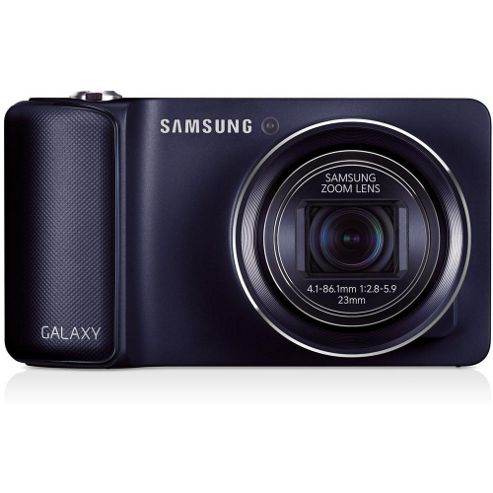 Samsung Galaxy Digital Camera, Black, 16.3MP, 21x Optical Zoom, 4.8