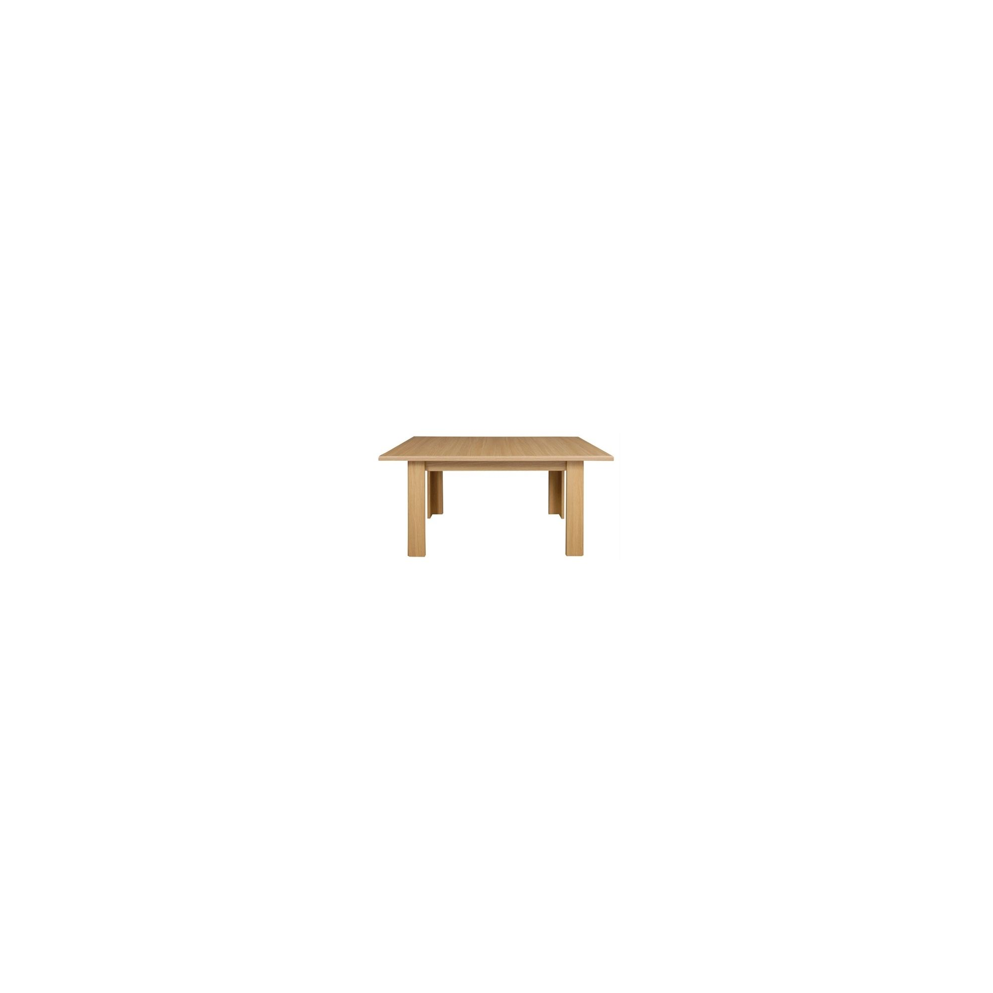Other Caxton Sherwood 4 Leg Rectangular Extending Dining Table in Natural Oak - 170-214cm