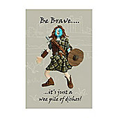 Holy Mackerel Tea Towel- William Wallace