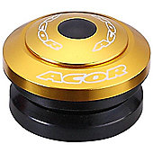 Acor 1.1/8inch Integrated Headset: Gold.