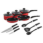 Morphy Richards 5 Piece Pan Set with Knives and Utensils