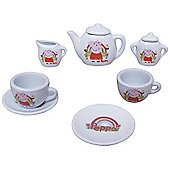 Peppa Pig 13 Piece Miniature Tea Set