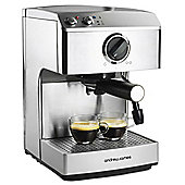 Andrew James Barista Espresso Coffee Maker in Silver