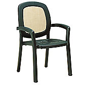 Nardi Beta Chair in Green (Set of 2)