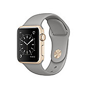 Apple Series 2 (38mm) Watch with Gold Aluminium Case and Concrete Sport Band