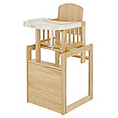 Obaby Cube Highchair, Natural