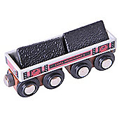 Bigjigs Rail BJT408 Big Coal Wagon
