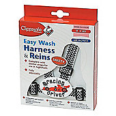 Clippasafe Designer Easy Wash Harness & Rein (airplanes)