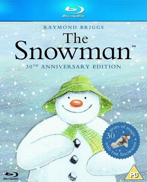The Snowman 30 Year Anniversary Blu-Ray