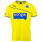 2013-14 Newcastle 3rd Football Shirt - Yellow