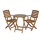 Mercer Leisure Oak Bistro Set