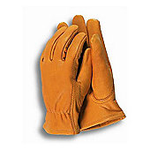 Town & Country Leather Gardening Gloves for Men - Medium