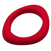 Jellystone Organic Teething Bangle in Scarlet Red