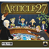 Board Game - Article 27 - The United Nations Security Council - Stronghold Games