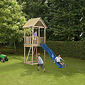Blue Rabbit Cabanna Tower and Slide - Blue