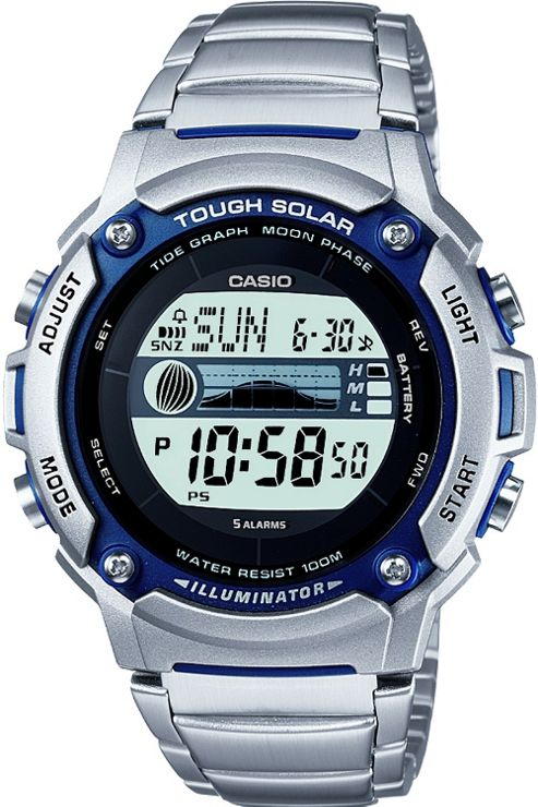 Casio Gents Solar Powered Watch W-S210HD-1AVCF