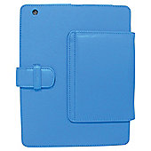 Tesco Finest Leather Case, Stand for new iPad & iPad2 - Blue