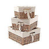 Mamas & Papas - Storage Baskets- Set of 3 in Natural