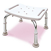 Lifemax Limited Oblong Bathroom Stool