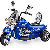 Rebel Electric Kids Battery Operated Ride-on Motorbike - Blue