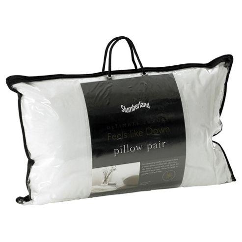Slumberland Feels Like Down Pillows - 2 Pack