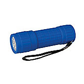 Silverline Soft-Grip LED Torch 9 LED