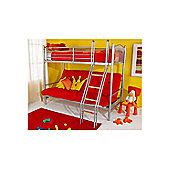 Hyder Alaska Futon Bunk Bed - Black