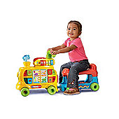 Vtech Baby Bundle Push And Ride Alphabet Train & Pink First Steps Baby Walker 2 Items