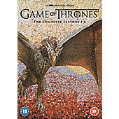 Game of Thrones: Season 1-6 DVD