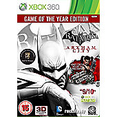 Batman - Arkham City - Game Of The Year Edition