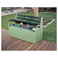 buy keter storage bench box green from our garden storage. Black Bedroom Furniture Sets. Home Design Ideas