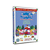 Peppa Christmas Triple (Christmas / Cold Winter Day / Grotto)