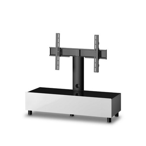 Sonorous Neo Troy TV Stand - White / Black