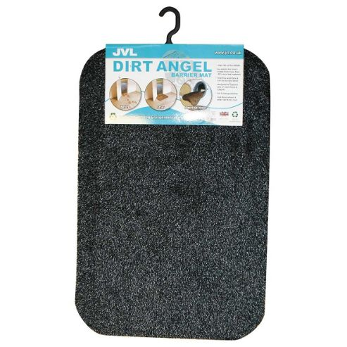 JVL Dirt Angel Barrier Slate Indoor / Outdoor Mat