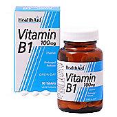 HealthAid Vitamin B1 Thiamin Prolong Release 90 Tablets 100mg