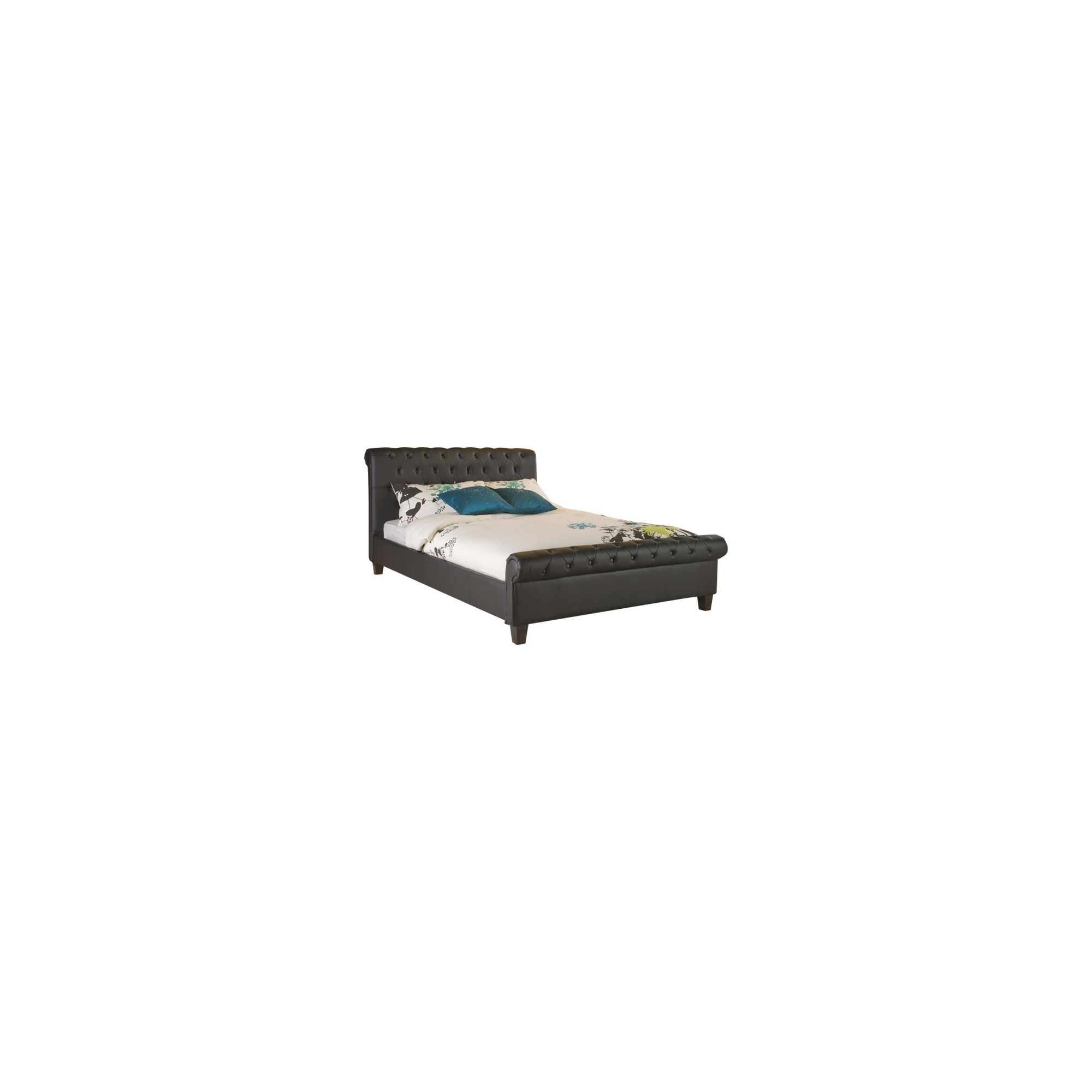 Limelight Phoenix Bed Frame - Double - Black at Tesco Direct