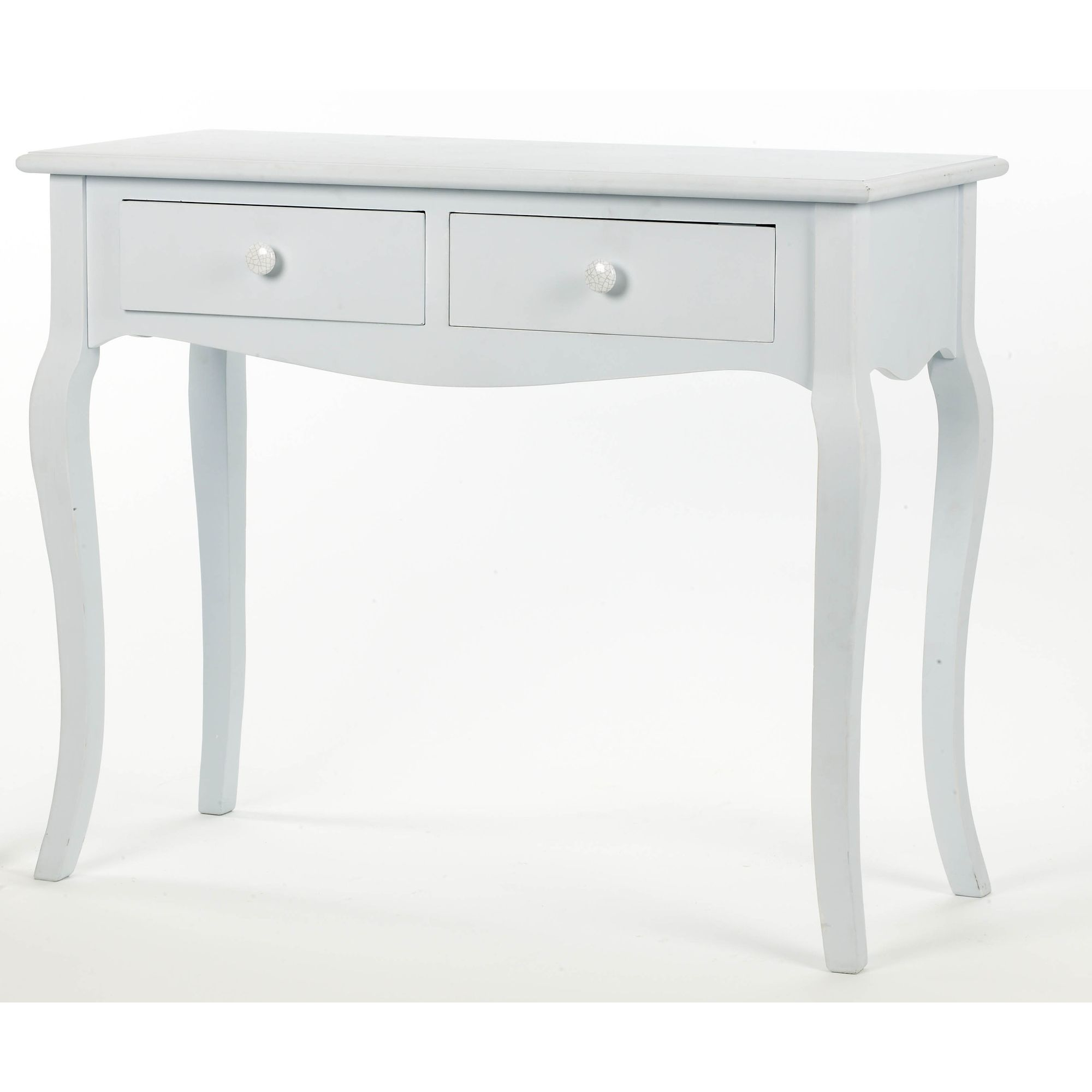 Salco 2 Drawer Console Table - Blue
