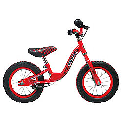 "Sunbeam Skedaddle 12"" Red Balance Bike, Designed by Raleigh"