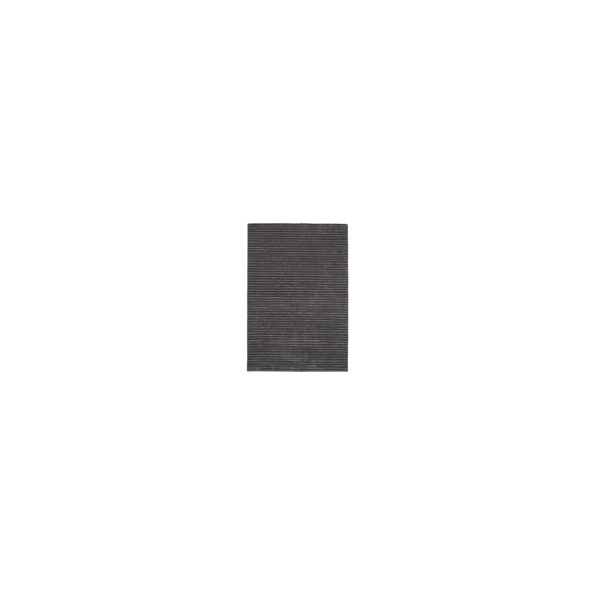 Linie Design Trojka Dark Grey Rug - 200cm x 140cm at Tesco Direct