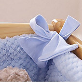 Clair de Lune 2pc Crib Bedding Set (Honeycomb Blue)