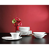 Seltmann Weiden Top Life White 16 Piece Dinnerware Set