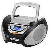 Groov-e Bluetooth Boombox Black