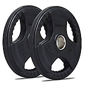 Bodymax Olympic Rubber Radial Weight Disc Plates - 2 x 10kg