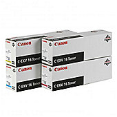 Canon C-EXV16 (Cyan) Toner Cartridge (Yield 36,000 Pages)