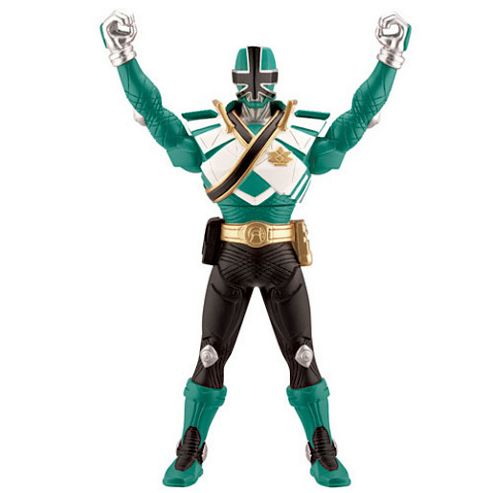 Power Rangers Super Samurai Chest Morphin Figure - Green