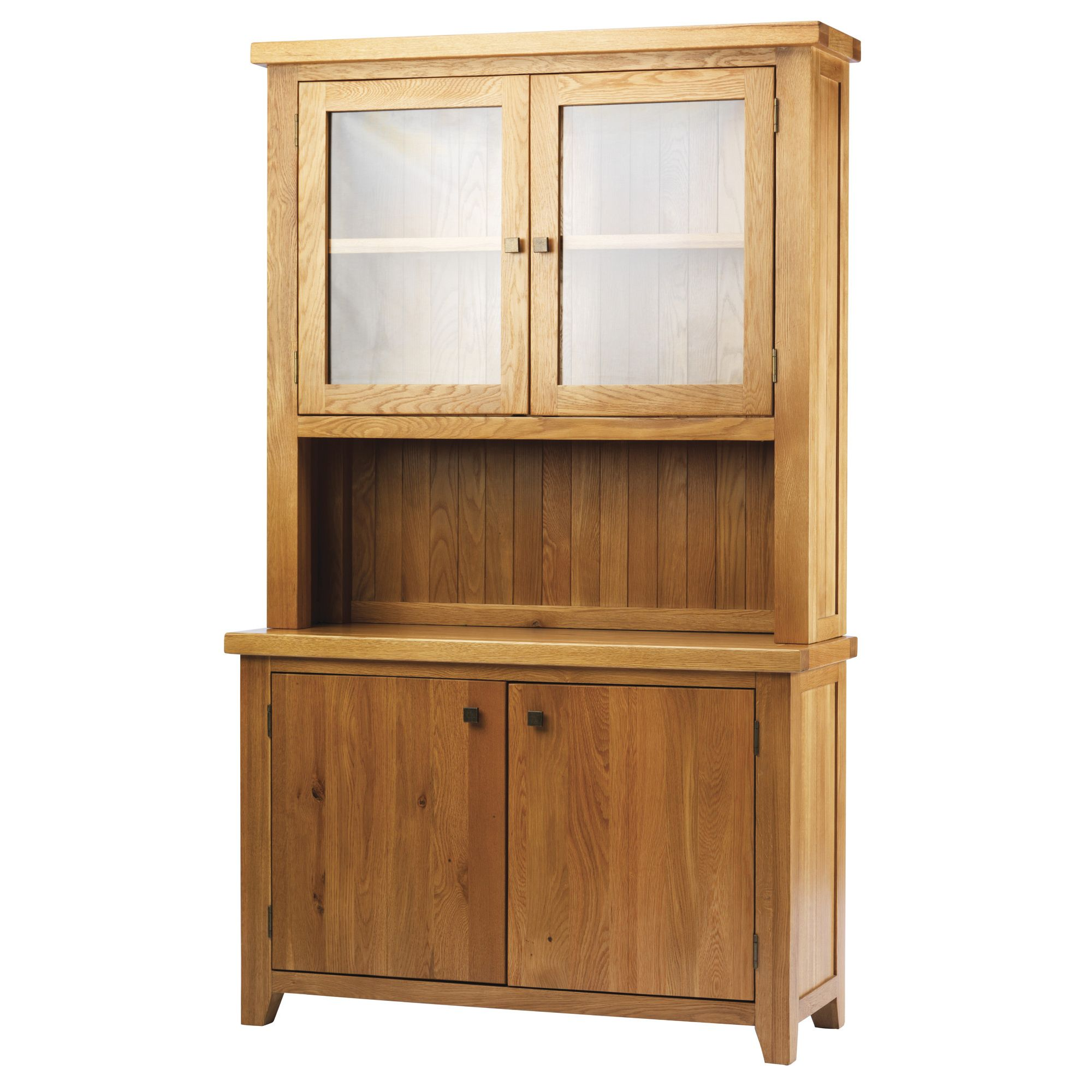Thorndon Taunton Hutch in Medium Oak at Tesco Direct