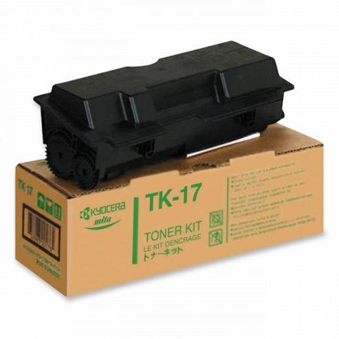 Kyocera TK-17 Black (Yield 6,000 Pages) Toner Cartridge for FS-1000/FS-1000+/FS-1010/FS-1050 Printers