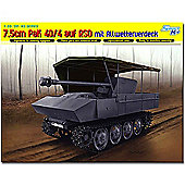Dragon 6679 7.5Cm Pak 40/4 Auf Rso 1:35 Smart Military Model Kit